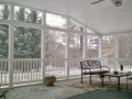 Bright Screen Porch