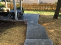 Trex Deck & Stamped Concrete Patio