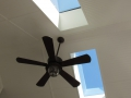 Ceiling Fan & Skylights