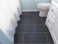 Modern Grey Tile & White Grout