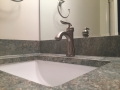 Granite Vanity Top with the Look of Concrete