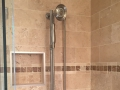Travertine Shower