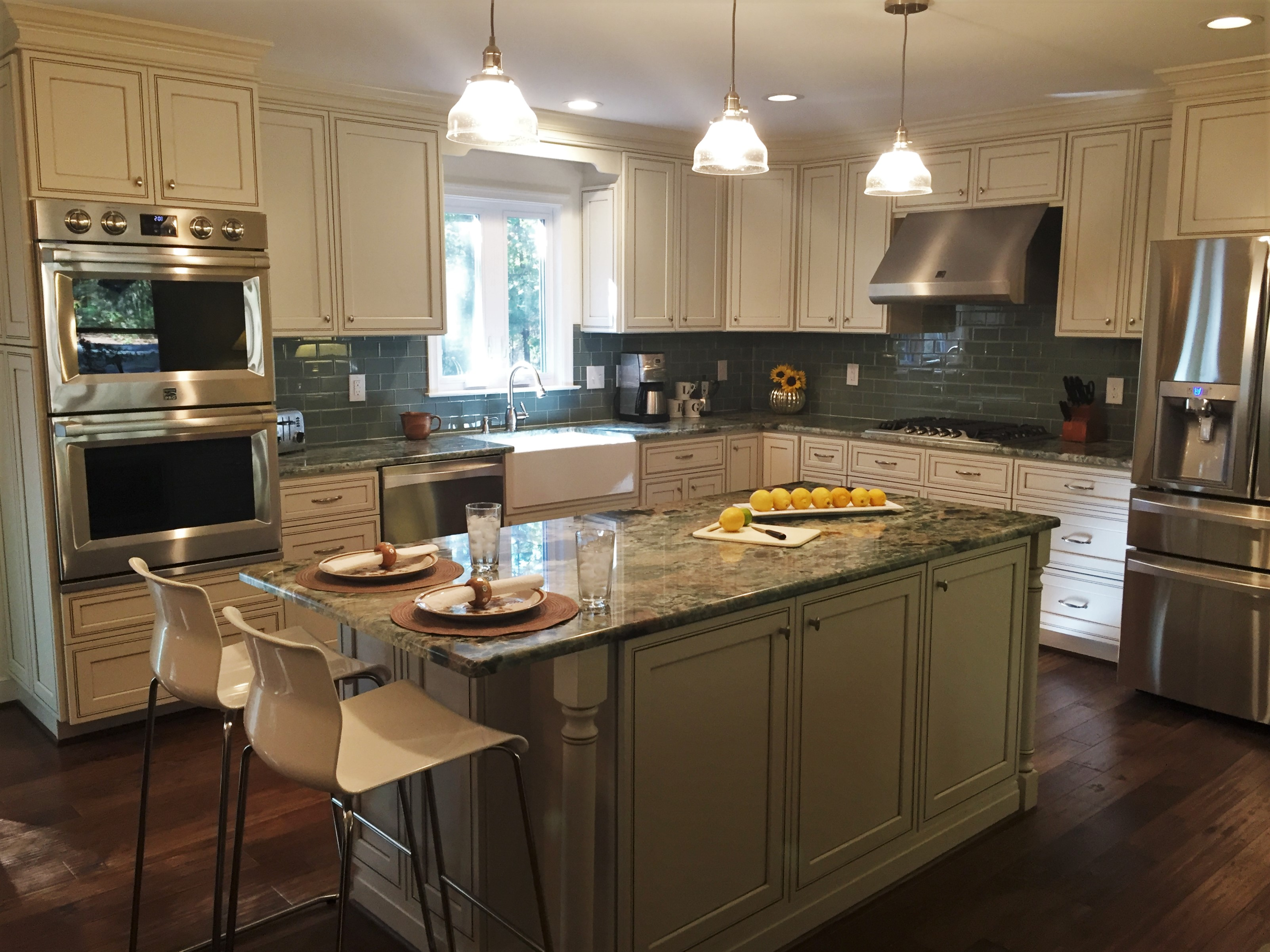 Kitchen Remodel with New Layout