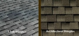 Architectural Shingles Vs 3 Tab Architectural Shingles 3 Tab